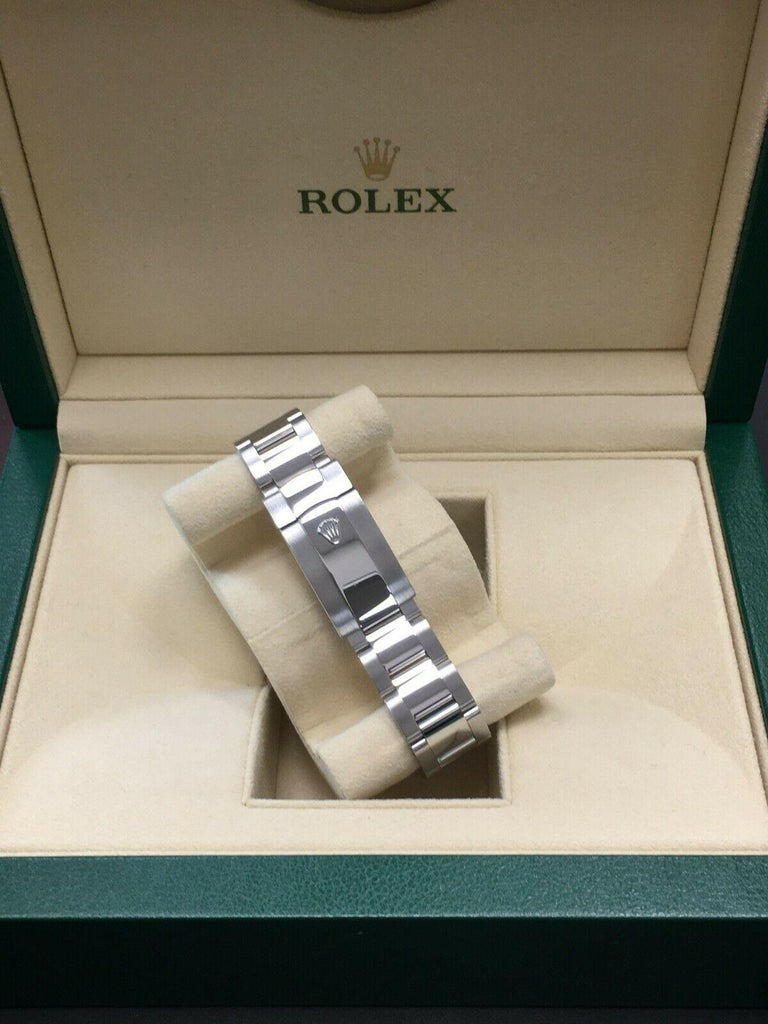 Rolex Datejust 41 126334 Rhodium Diamond Dial Stainless Steel 18K Box Paper 2018 For Sale 3