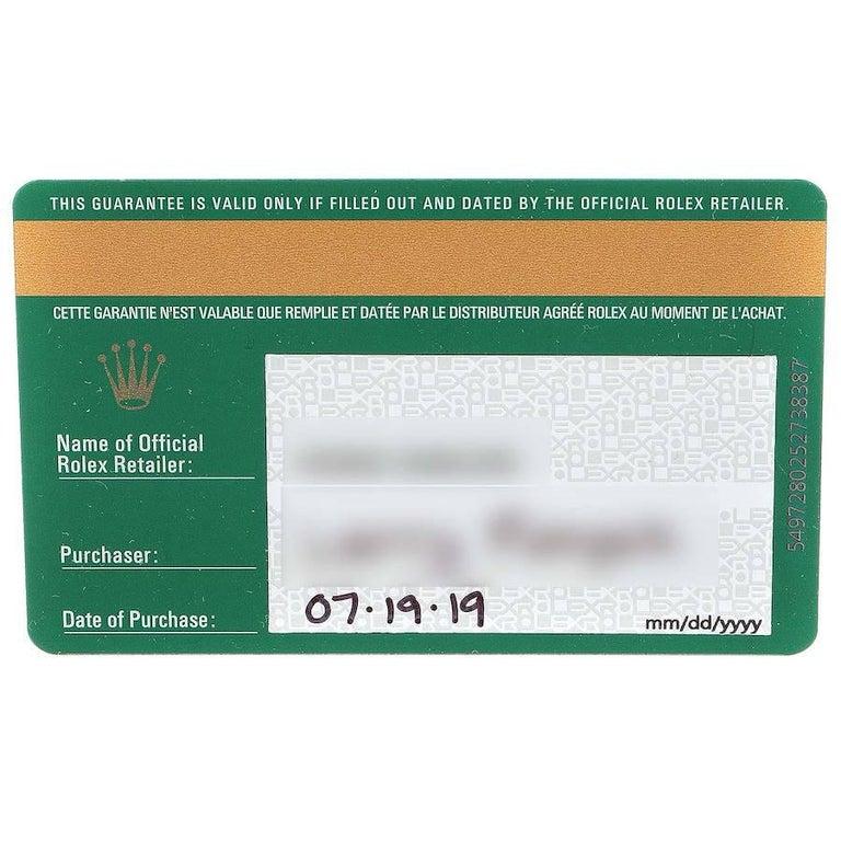 Rolex Datejust 41 Black Dial Steel Men's Watch 126300 Box Card 7