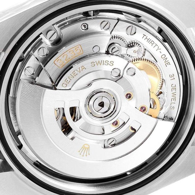 Rolex Datejust 41 Black Dial Steel Men's Watch 126300 Box Card 4