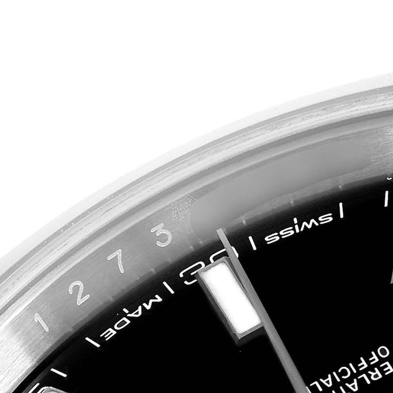 Rolex Datejust 41 Black Dial Steel Men's Watch 126300 Box Card 5
