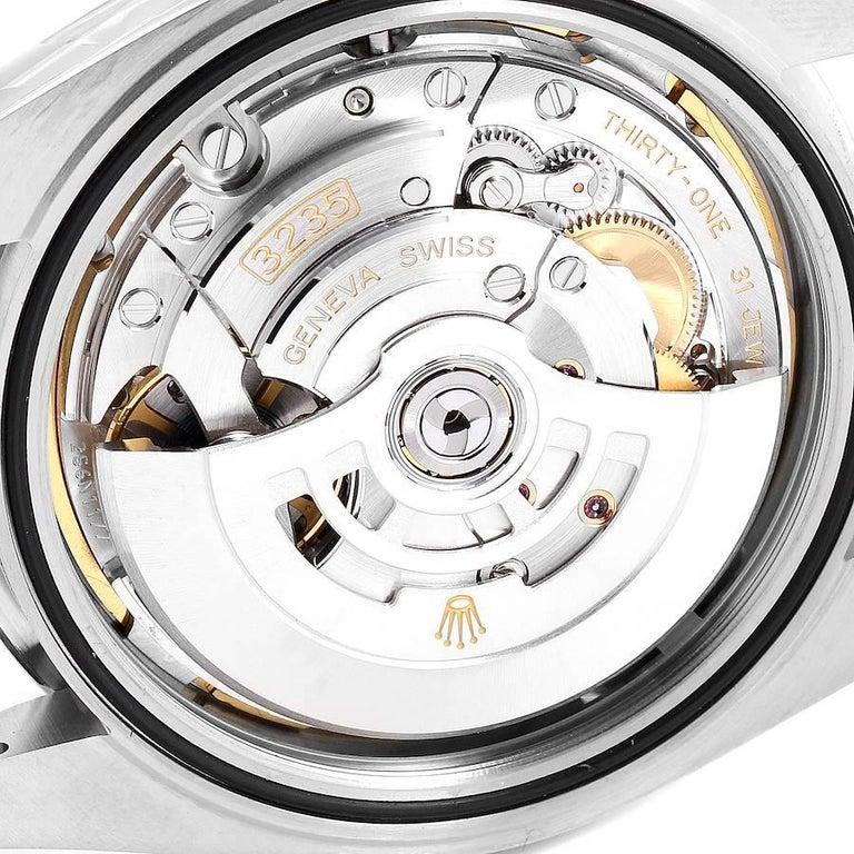 Rolex Datejust 41 Blue Dial Jubilee Bracelet Steel Men's Watch 126300 Box Card For Sale 5