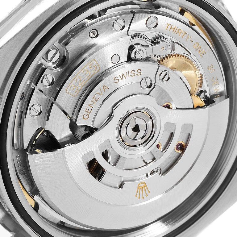 Rolex Datejust 41 Blue Dial Steel Men's Watch 126300 Box Card For Sale 3