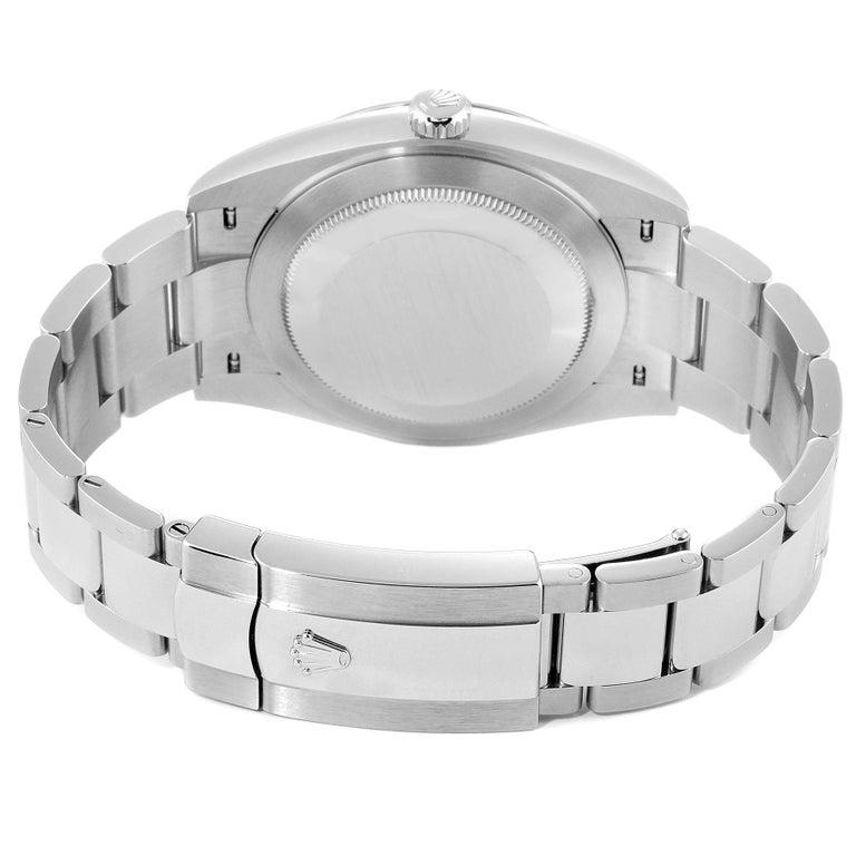 Rolex Datejust 41 Blue Dial Steel Men's Watch 126300 Box Card For Sale 6