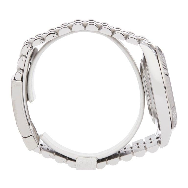 Men's Rolex Datejust 41 NOS Stainless Steel 126334