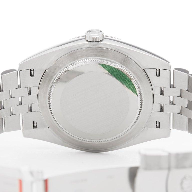 Rolex Datejust 41 NOS Stainless Steel 126334 2