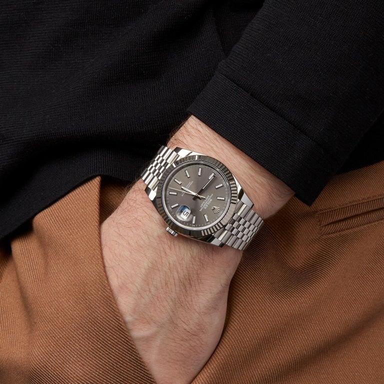Rolex Datejust 41 NOS Stainless Steel 126334 4