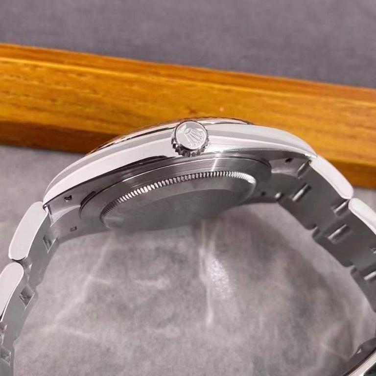 Women's or Men's Rolex Datejust 41 Oyster Steel Men's Watch 126334-0013 For Sale
