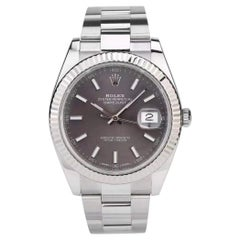 Rolex Datejust 41 Oyster Steel Men's Watch 126334-0013