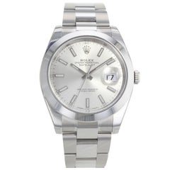 Rolex Datejust 41 Sio 126300 Stainless Steel Automatic Men's Watch