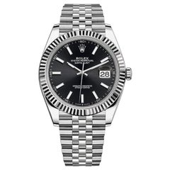 Rolex Datejust 41 Stainless Steel and White Gold/Jubilee Bracelet / 126334-0018