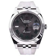 Rolex Datejust 41 Stainless Steel Smooth Bezel Watch Ref. 126300