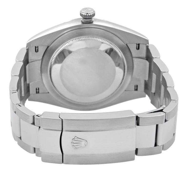 Rolex Datejust 41 Steel Dark Rhodium Dial Automatic Men's Watch 126300 For Sale 2