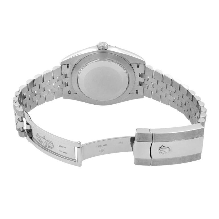Rolex Datejust 41 Steel Dark Rhodium Dial Jubilee Men's Watch 126300 3