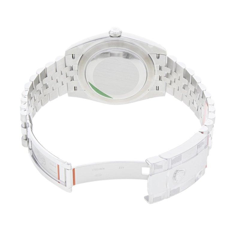 Rolex Datejust 41 Steel Silver Index Dial Automatic Men's Watch 126300 sij 2