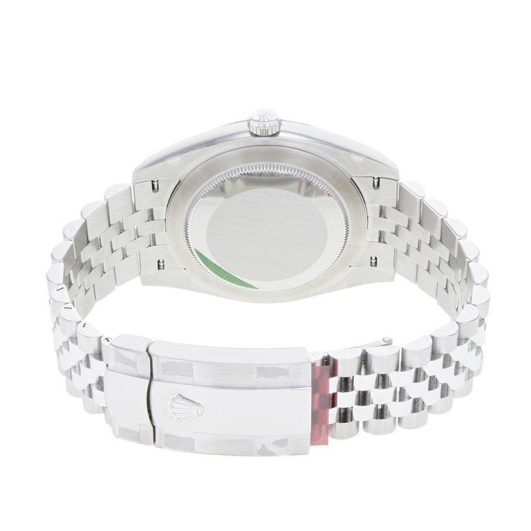 Rolex Datejust 41 Steel Silver Index Dial Automatic Men's Watch 126300 sij 3