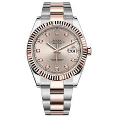 Rolex Datejust 41 Two-Tone Oystersteel and 18 Karat Everose Gold/ 126331-0007