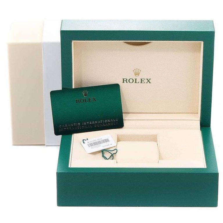 Rolex Datejust 41 White Dial Steel Men's Watch 126300 Box Card Unworn For Sale 6