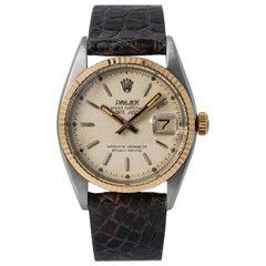 Rolex Datejust 6305, Beige Dial, Certified and Warranty