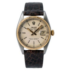 Rolex Datejust 6305, Beige Dial, Certified and Warranty