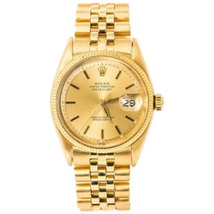 Rolex Datejust 6605, Champagne Dial, Certified and Warranty
