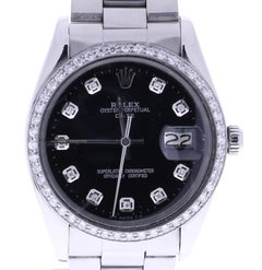 Rolex Datejust 6694 34 mm Black Dial