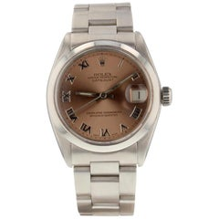 Rolex Datejust 6824, Pink Dial, Certified and Warranty