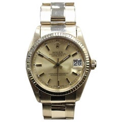 Rolex Datejust 6827, Blue Dial, Certified and Warranty