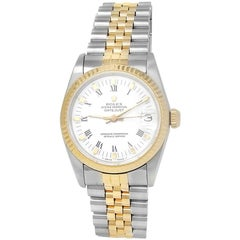 Rolex Datejust 68273, White Dial, Certified and Warranty