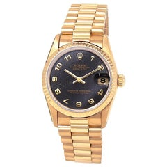 Rolex Datejust 68278, Black Dial, Certified and Warranty