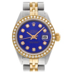 Rolex Datejust 6916, Gold Dial, Certified and Warranty