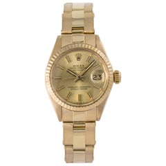 Rolex Datejust 6917, Beige Dial, Certified and Warranty