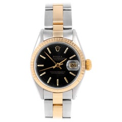Rolex Datejust 6917, Black Dial, Certified and Warranty