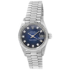 Rolex Datejust 6917, Blue Dial, Certified and Warranty
