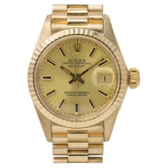 Rolex Datejust 6917, Champagne Dial, Certified and Warranty