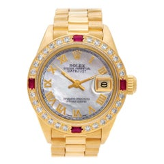 Rolex Datejust 6917, White Dial, Certified and Warranty