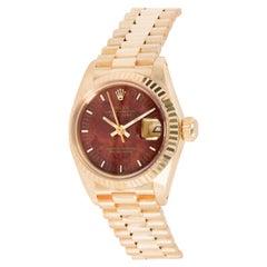 Rolex Datejust 6917 Women's Watch in 18 Karat Yellow Gold
