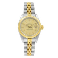 Rolex Datejust 69173 18K Yellow Gold & Stainless Steel Automatic Ladies Watch
