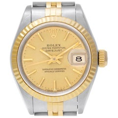 Rolex Datejust 69173, Certified and Warranty