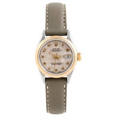 Rolex Datejust 69173, Ivory Dial, Certified and Warranty