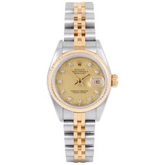 Rolex Datejust 69173, Pink Dial, Certified and Warranty