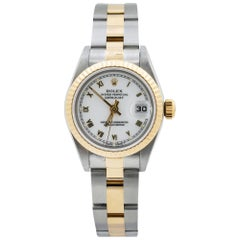 Rolex Datejust 69173, White Dial, Certified and Warranty