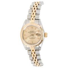 Rolex Datejust 69173 Women's Watch in 18 Karat Stainless Steel/Yellow Gold