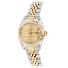 Rolex Datejust 69173 Women's Watch in 18 Karat Yellow Gold and Stainless Steel