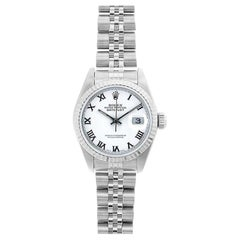 Rolex Datejust 69174, White Dial, Certified and Warranty