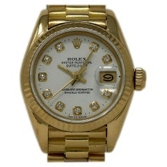 Rolex Datejust 69178, Black Dial, Certified and Warranty