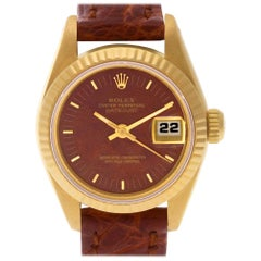 Rolex Datejust 69178, Brown Dial, Certified and Warranty