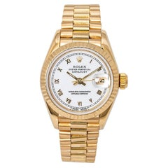 Rolex Datejust 69178, White Dial, Certified and Warranty