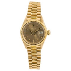 Rolex Datejust 6927, Champagne Dial, Certified and Warranty