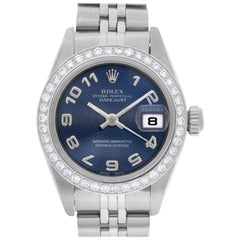Rolex Datejust 79160, Blue Dial, Certified and Warranty