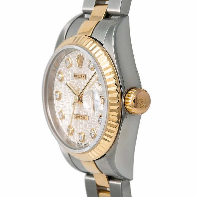 Women's Rolex Datejust 79173, White Dial, Certified and Warranty For Sale